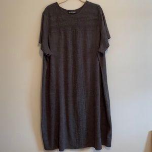 Lane Bryant short sleeve sweater dress